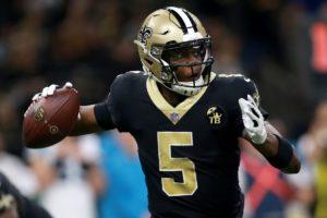 Teddy Bridgewater playing quarterback for the New Orleans Saints is now the quarterback for the Carolina Panthers