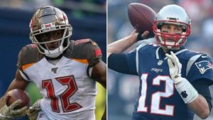 Chris Godwin and Tom Brady both wear the number 12