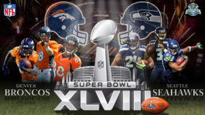 Denver Broncos and the Seattle Seahawks played in the 2013 Superbowl