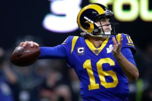 Jared Goff of the Los Angeles Rams is the highest paid players in the NFL
