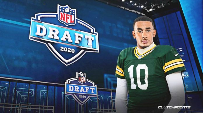 Jordan Love drafted by the Green Bay Packers in the first round of the 2020 NFL Draft