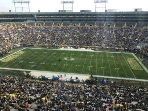 Lambeau Field home of the Green Bay Packers