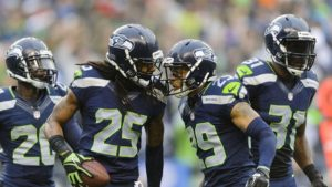 The Legion of Boom playing for the Seattle Seahawks
