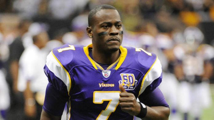 Tavaris Jackson as a member of the Minnesota Vikings