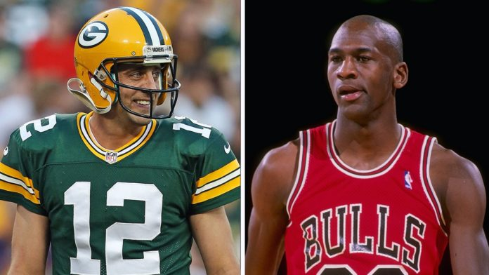 Aaron Rodgers and Michael Jordan are very similar