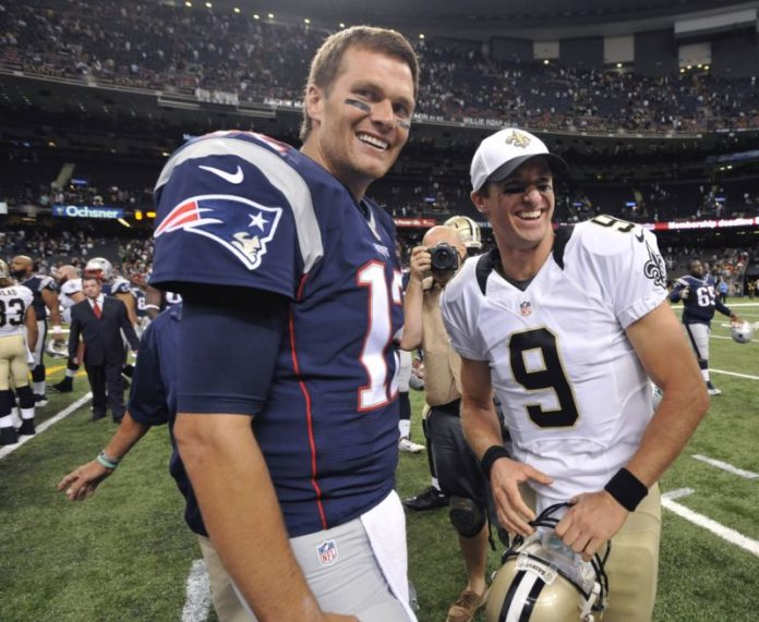Tom Brady of the Tampa Bay Buccaneers and Drew Brees of the New Orleans Saints will face off twice in the 2020 NFL Season.