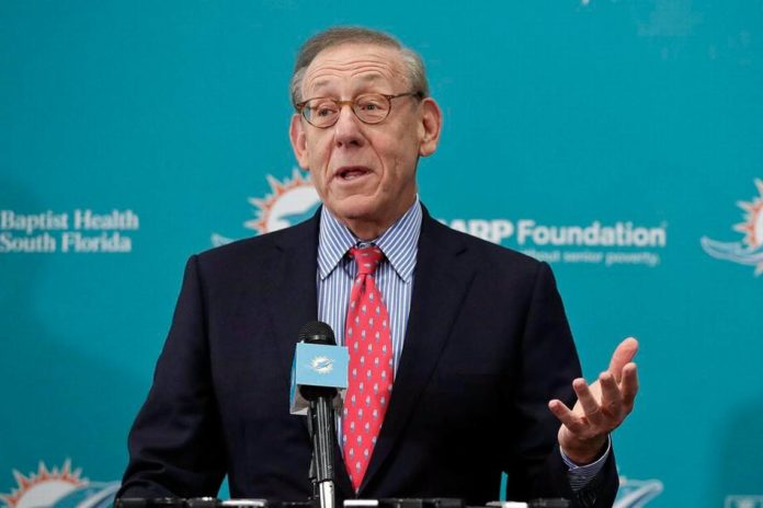 Miami Dolphins owner Stephen Ross