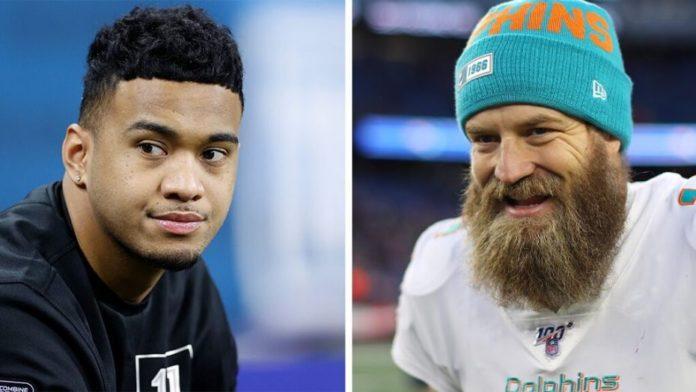 Tua Tagovailoa starting over Ryan Fitzpatrick for the Miami Dolphins