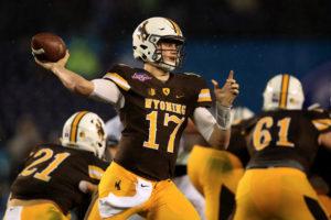 Josh Allen Throwing Wyoming